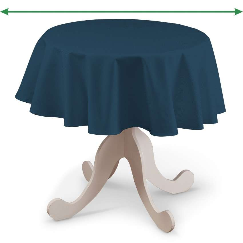 Round tablecloth in collection Panama Cotton, fabric: 702-30