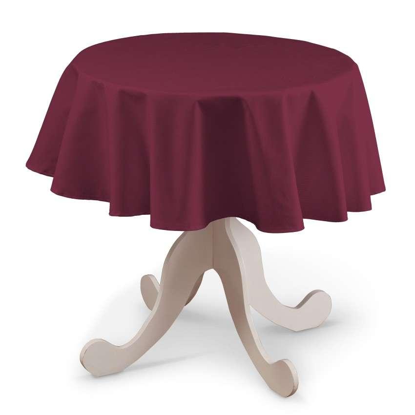Rund bordsduk i kollektionen Panama Cotton, Tyg: 702-32