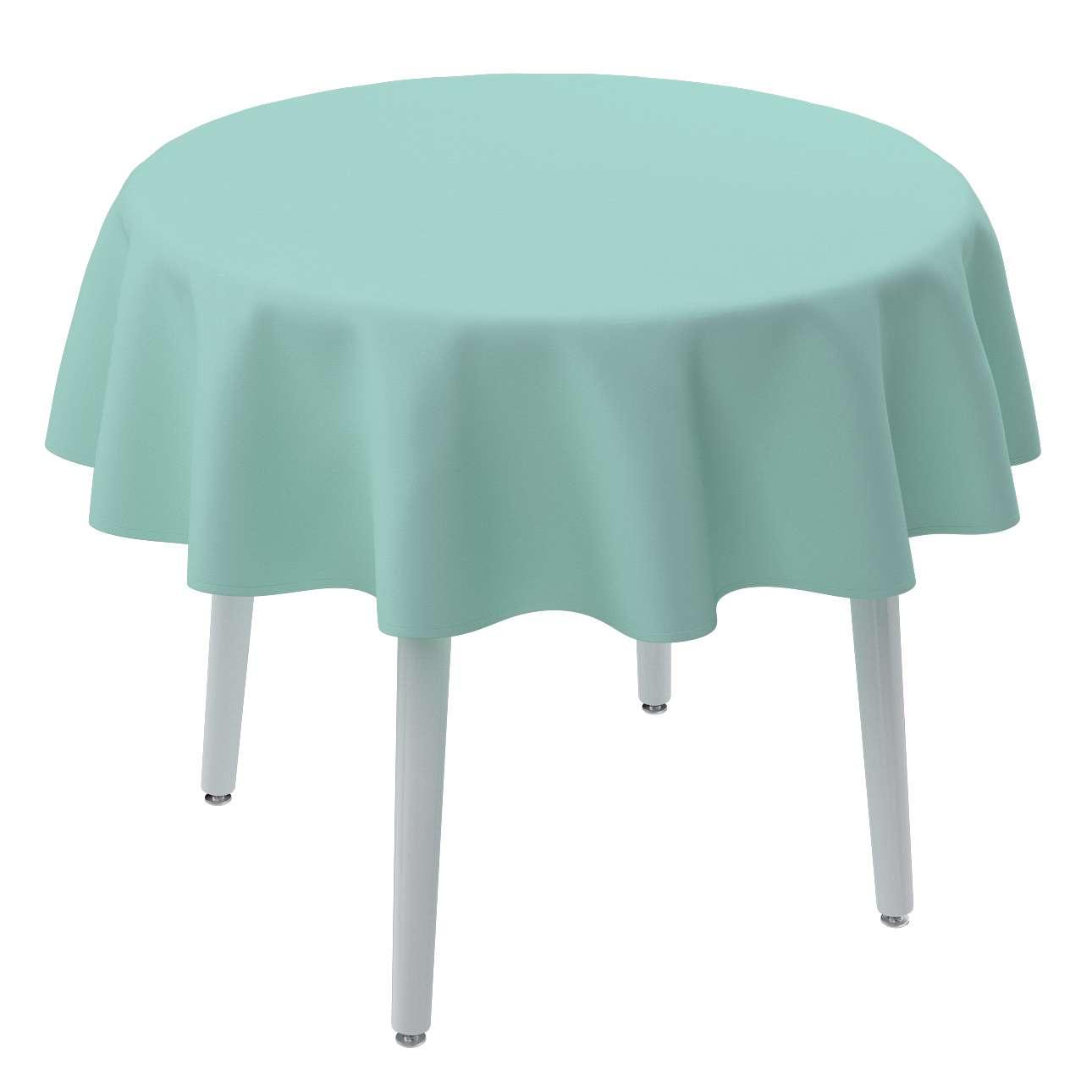 Rund bordsduk i kollektionen Loneta, Tyg: 133-32