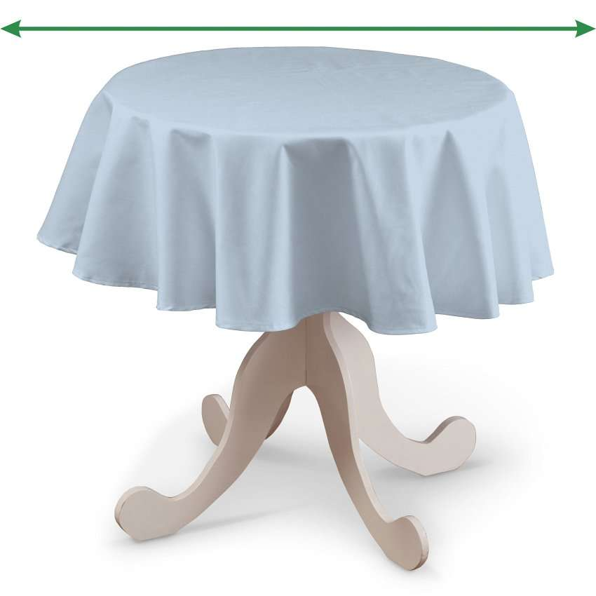 Rund bordsduk i kollektionen Loneta, Tyg: 133-35
