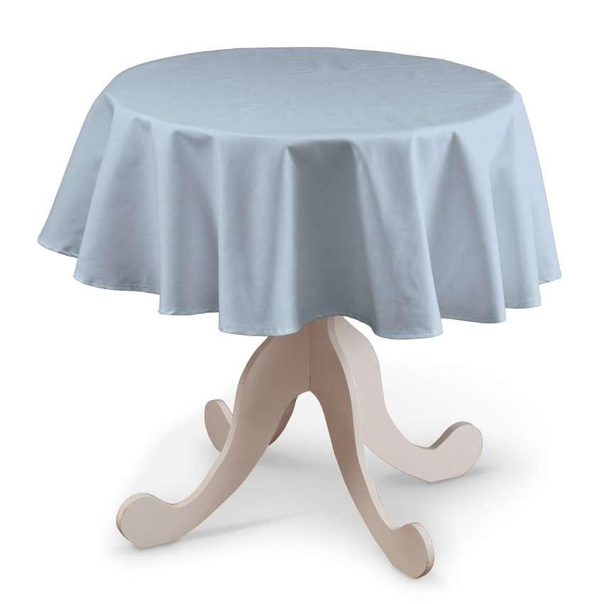 Runde Tischdecke von der Kollektion Loneta, Stoff: 133-35