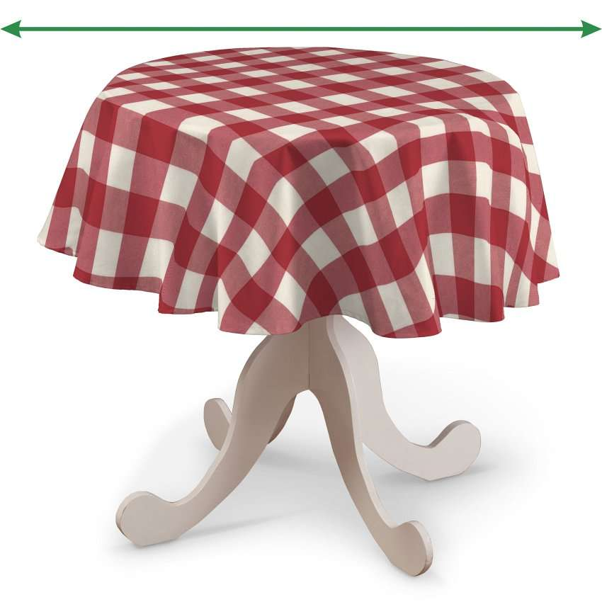 Staltiesės (apvaliam stalui) kolekcijoje Quadro, audinys: 136-18