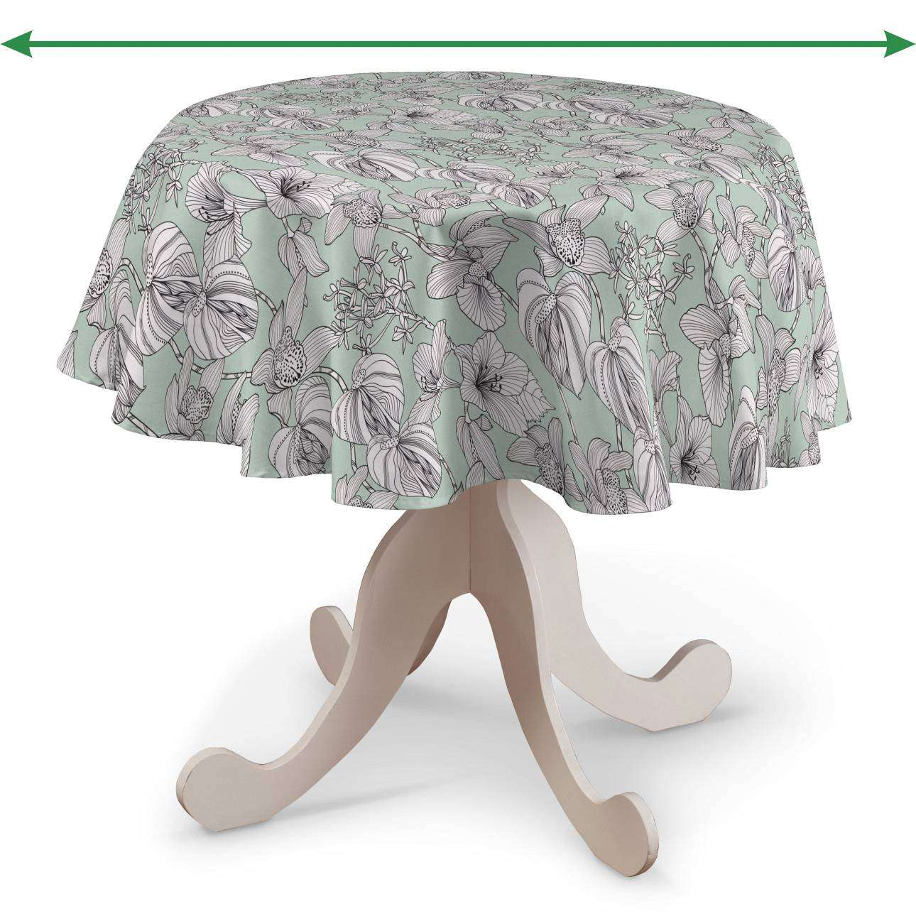 Round tablecloth in collection SALE, fabric: 137-76
