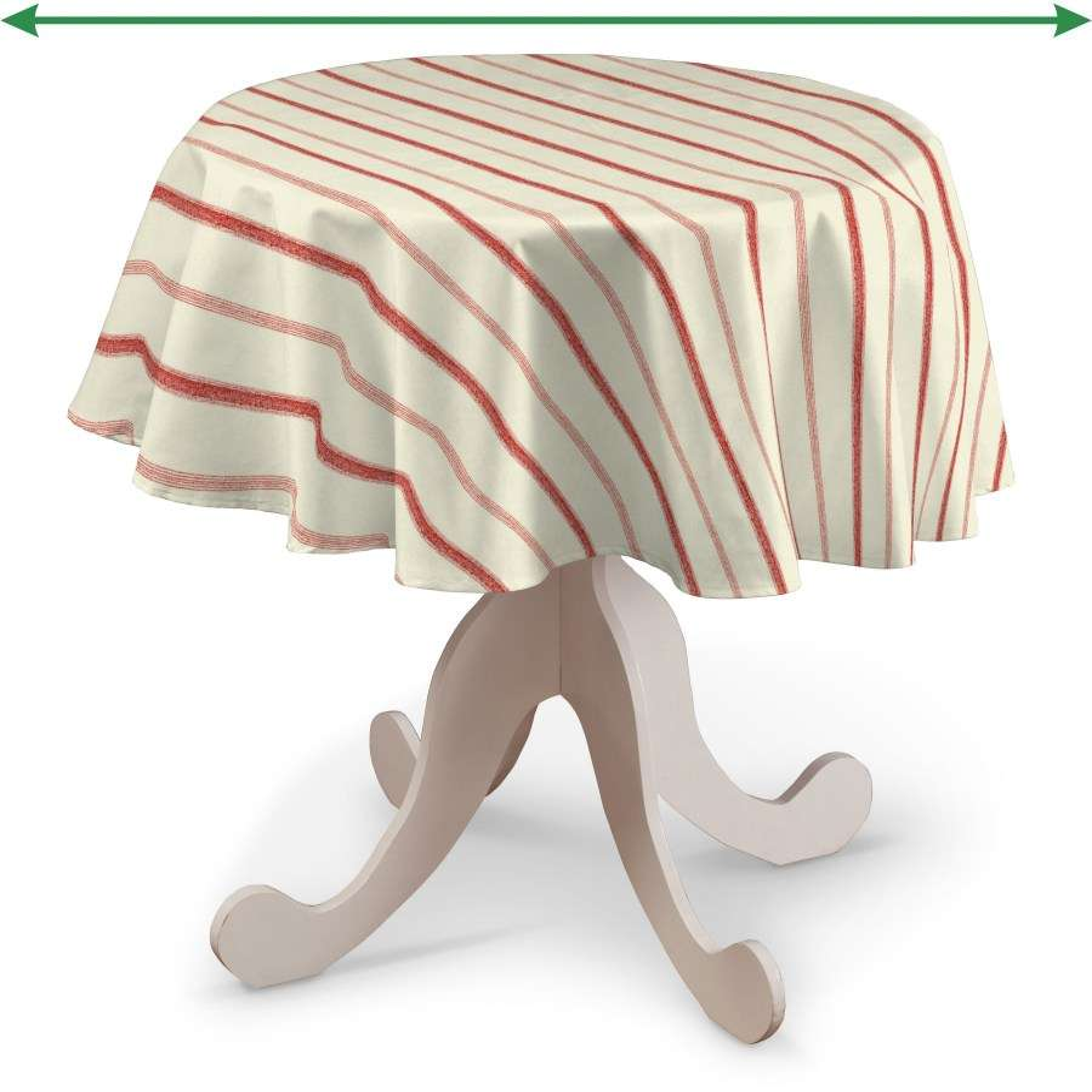 Staltiesės (apvaliam stalui) kolekcijoje Avinon, audinys: 129-15