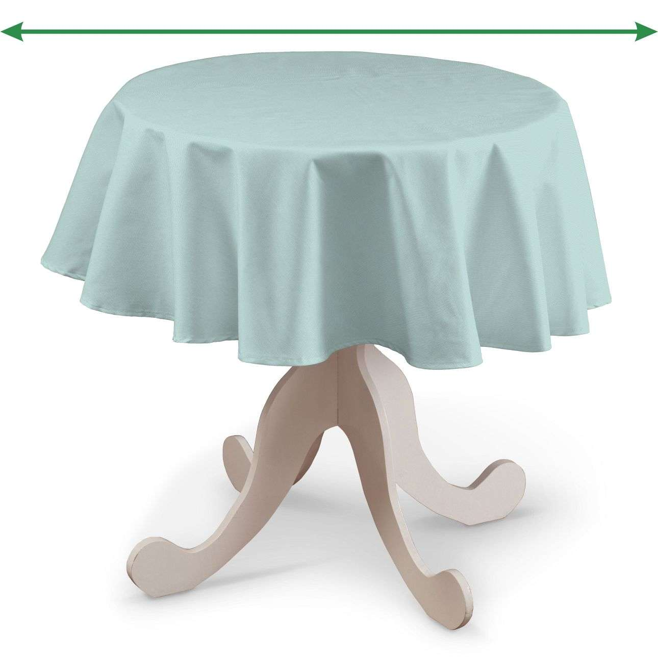 Rund bordduk fra kolleksjonen Cotton Panama, Stoffets bredde: 702-10