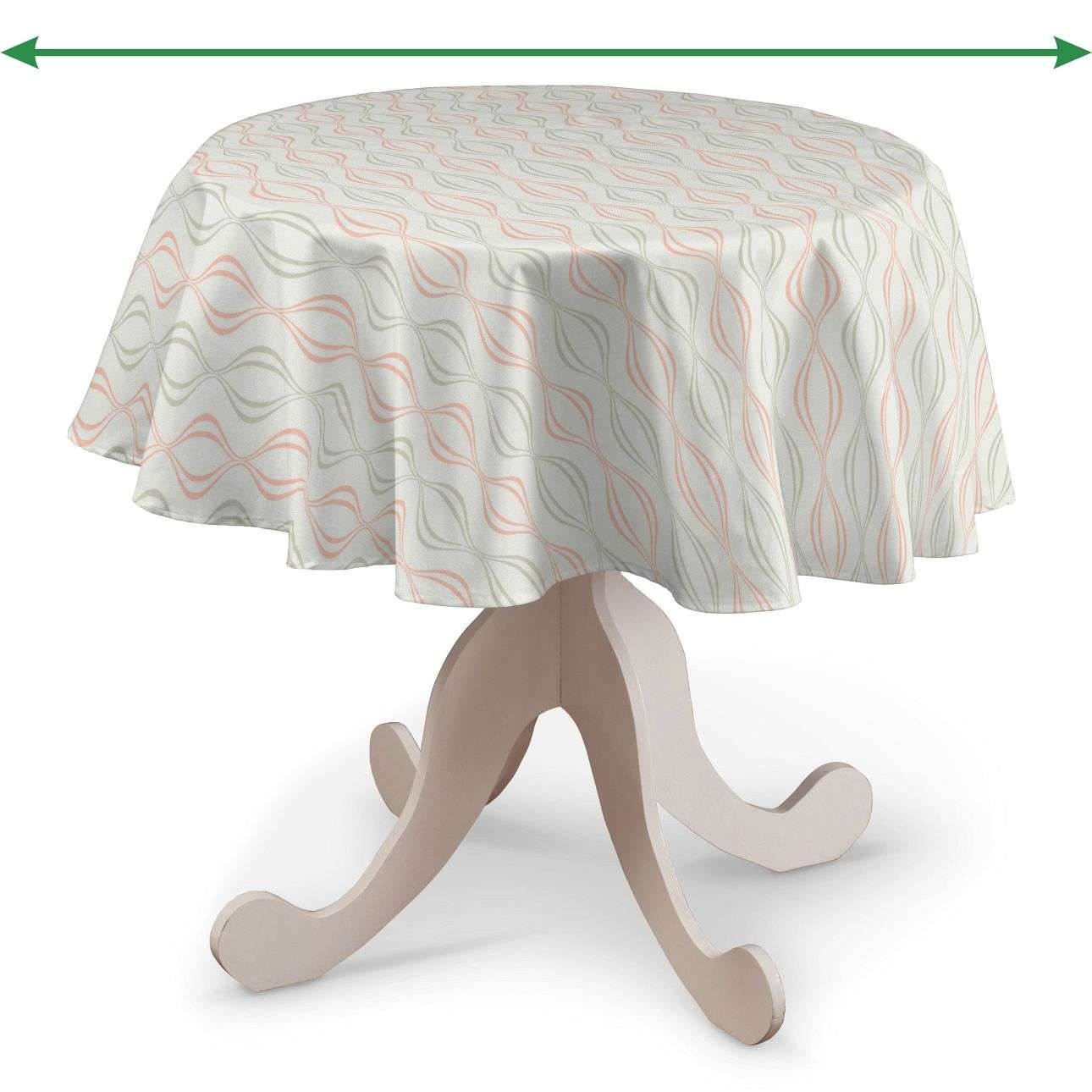 Round tablecloth in collection SALE, fabric: 141-49