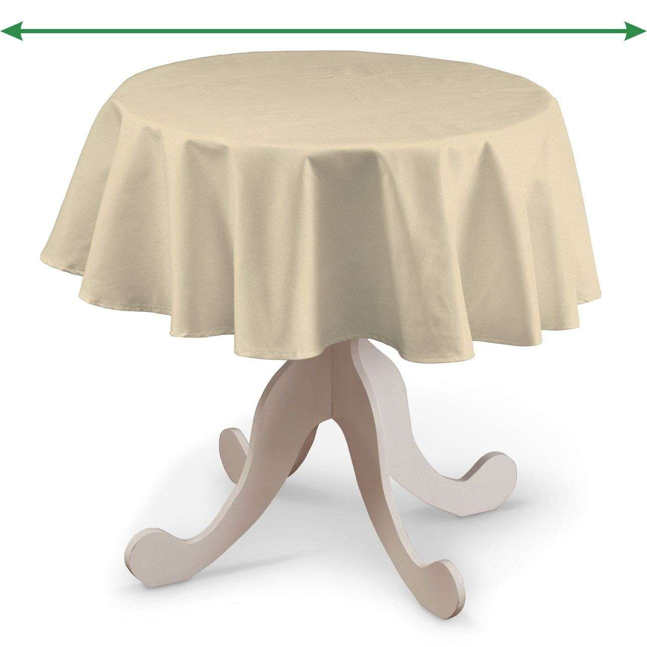 Round tablecloth in collection Damasco, fabric: 141-73