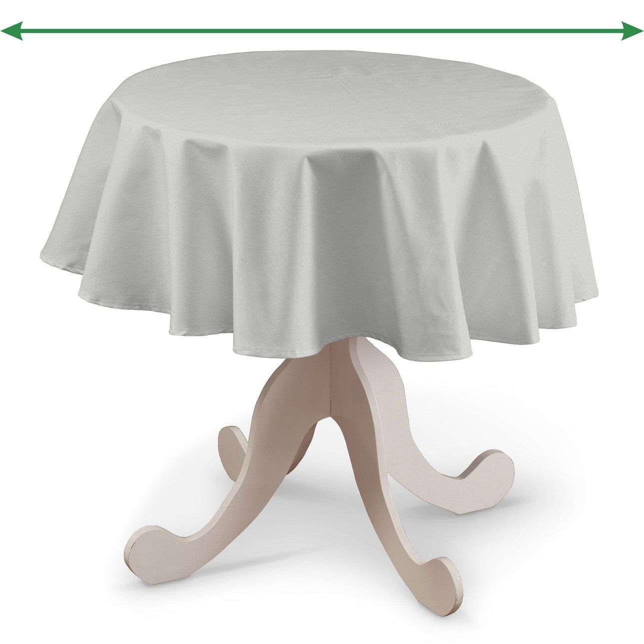 Round tablecloth in collection Damasco, fabric: 141-77