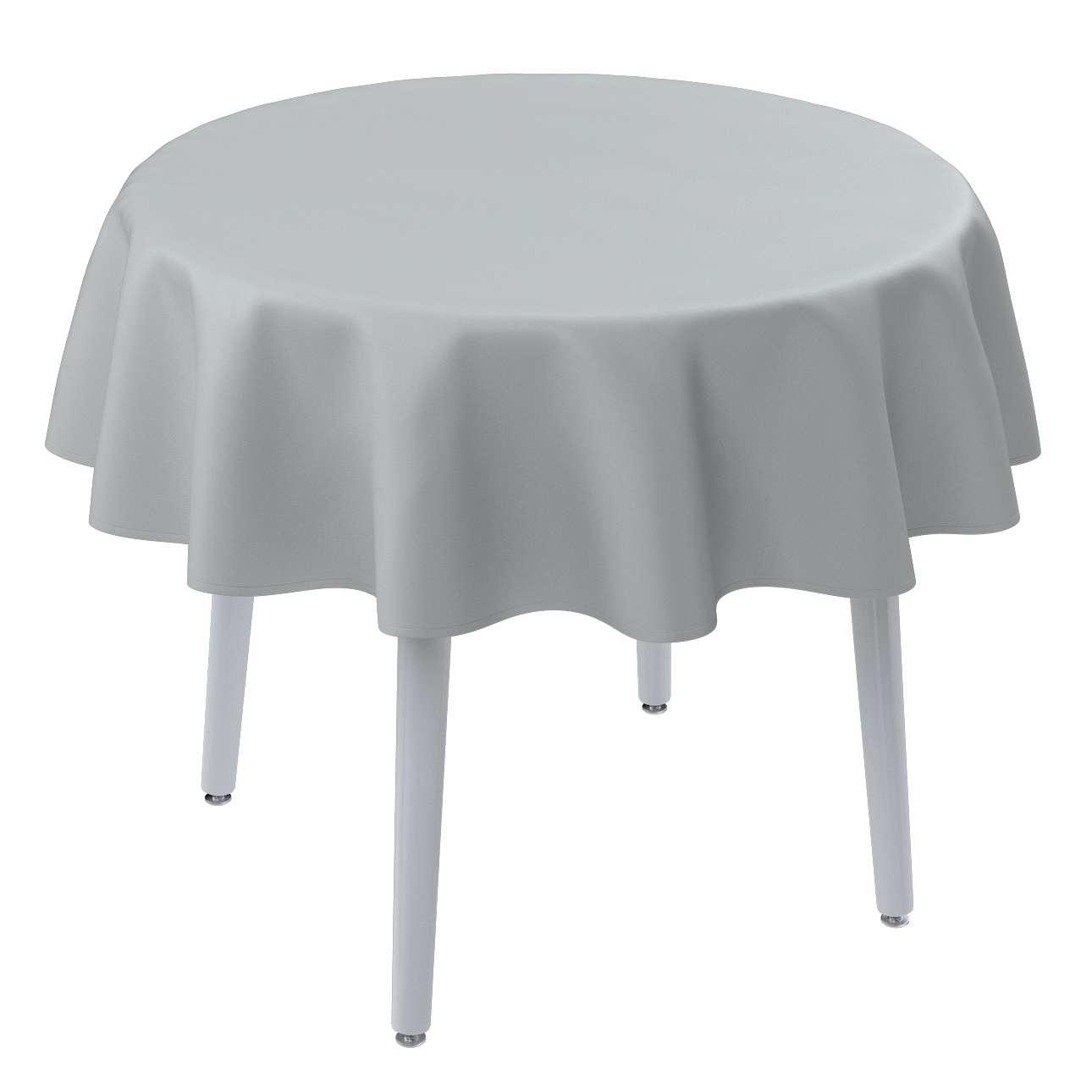 Runde borddug fra kollektionen Damasco, Stof: 141-77