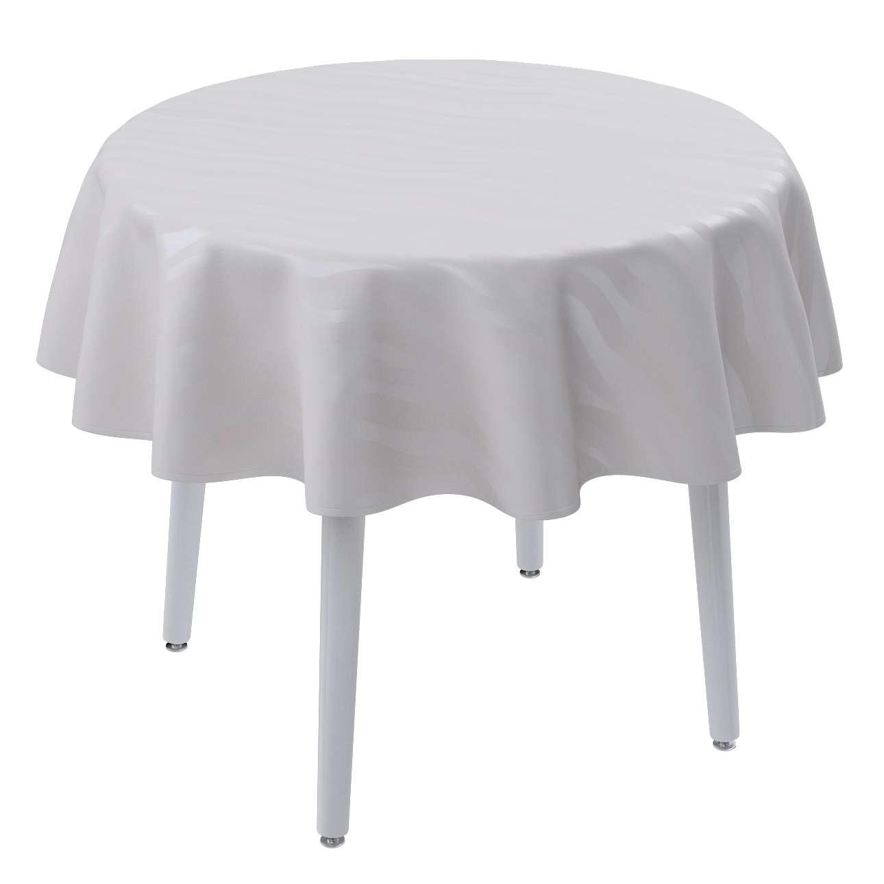 Runde borddug fra kollektionen Damasco, Stof: 141-87