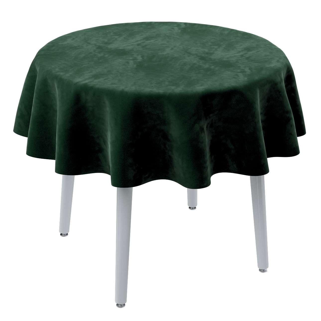 Runde borddug fra kollektionen Velvet, Stof: 704-13
