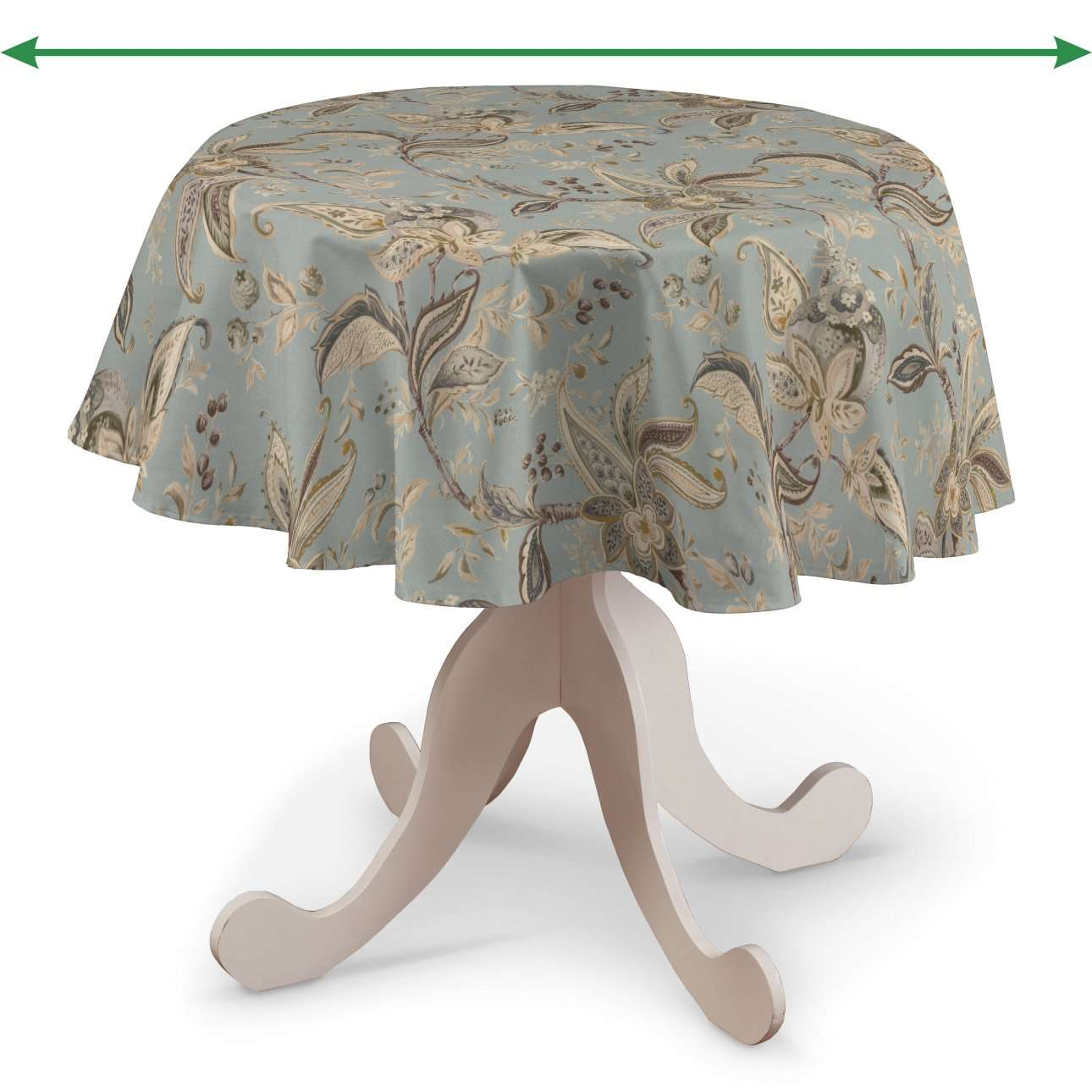Kerek asztalterítő a kollekcióból Gardenia Lakástextil, Dekoranyag: 142-18