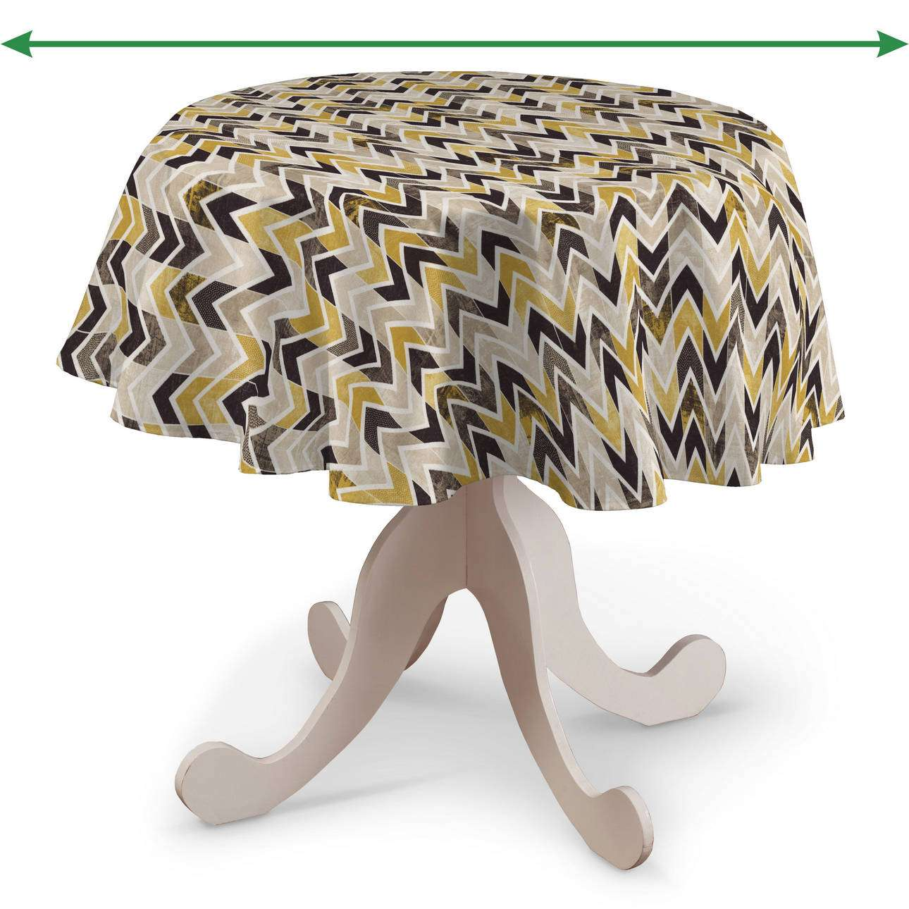 Kerek asztalterítő a kollekcióból Modern Lakástextil, Dekoranyag: 142-79