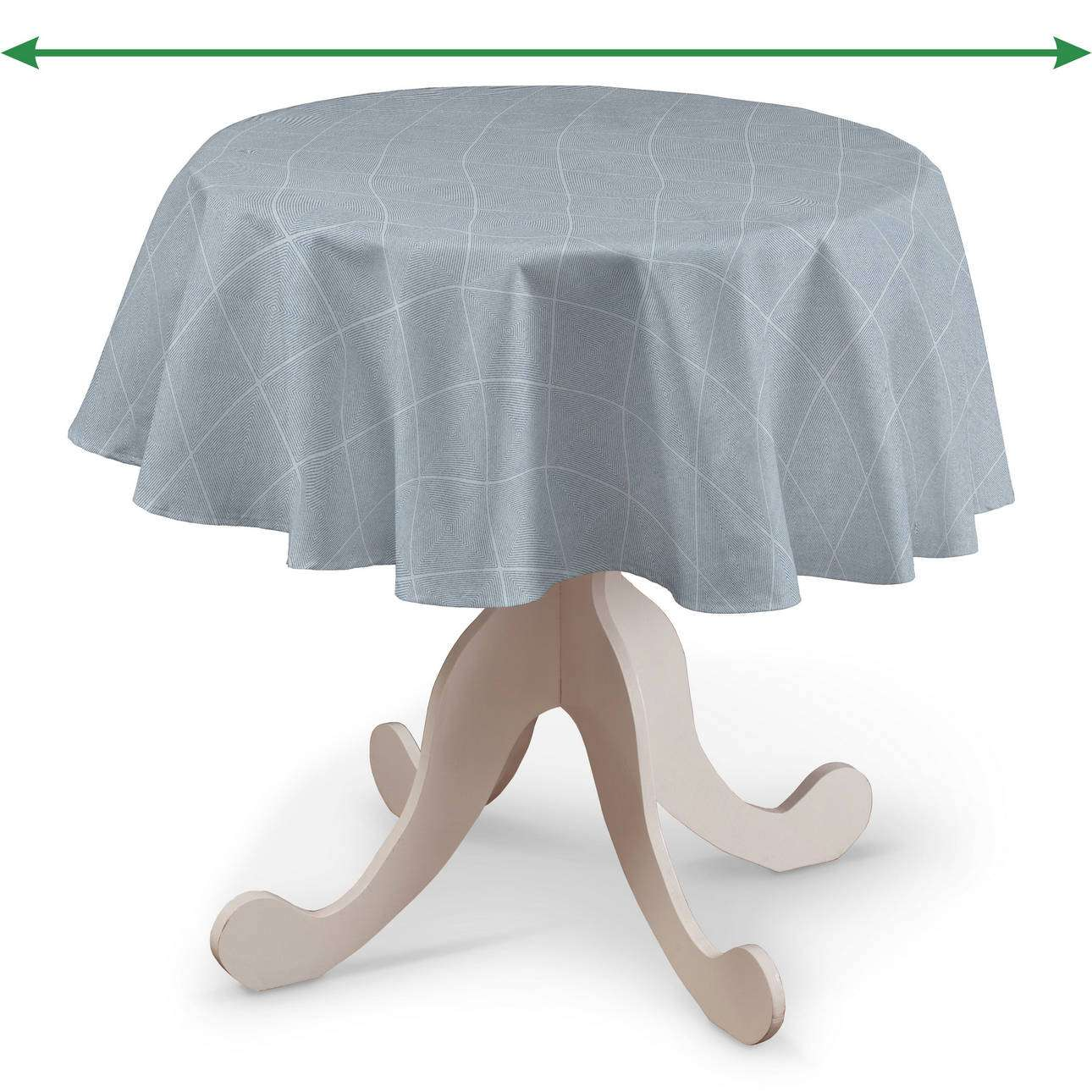 Rund bordsduk i kollektionen Venice, Tyg: 142-57