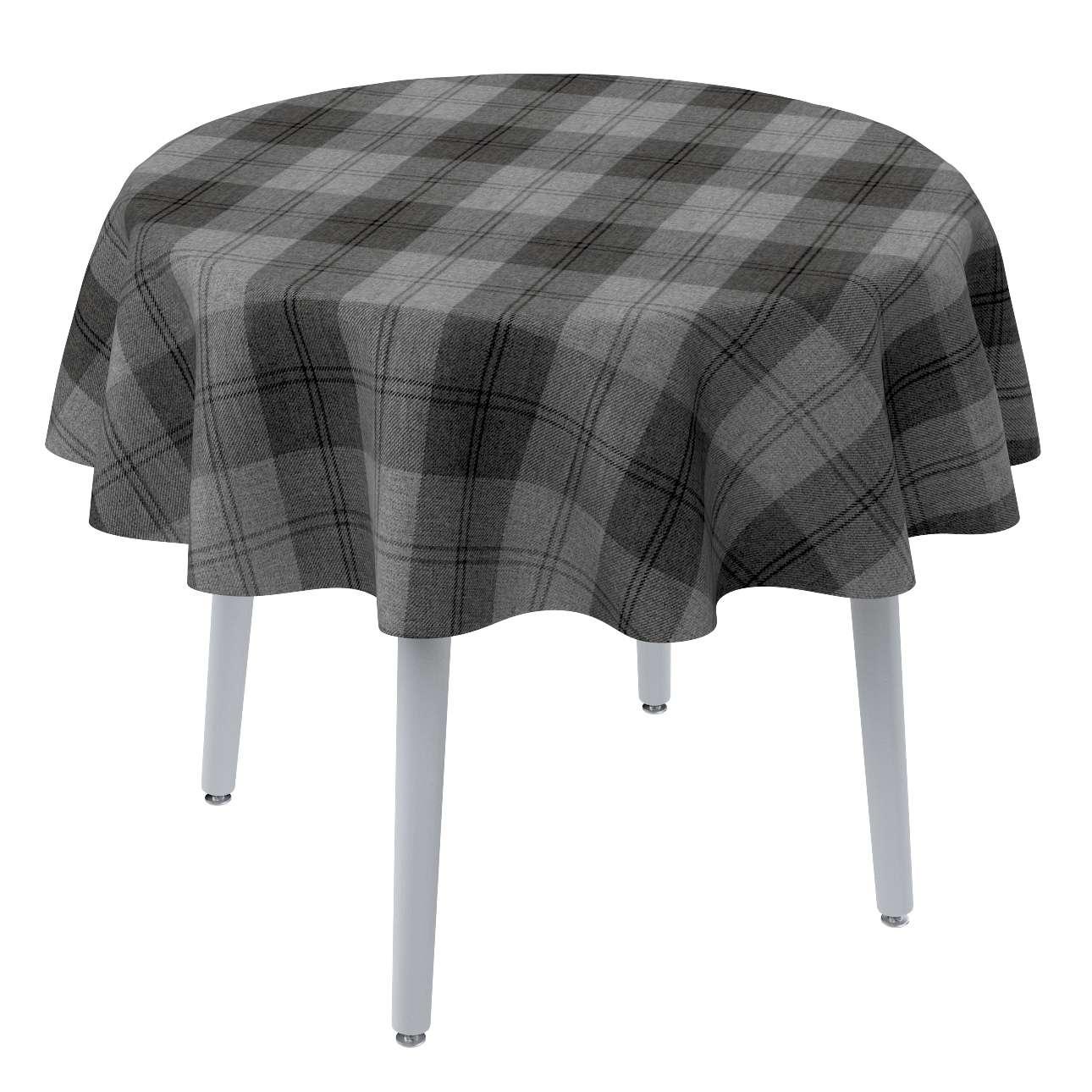 Runde Tischdecke von der Kollektion Edinburgh , Stoff: 115-75
