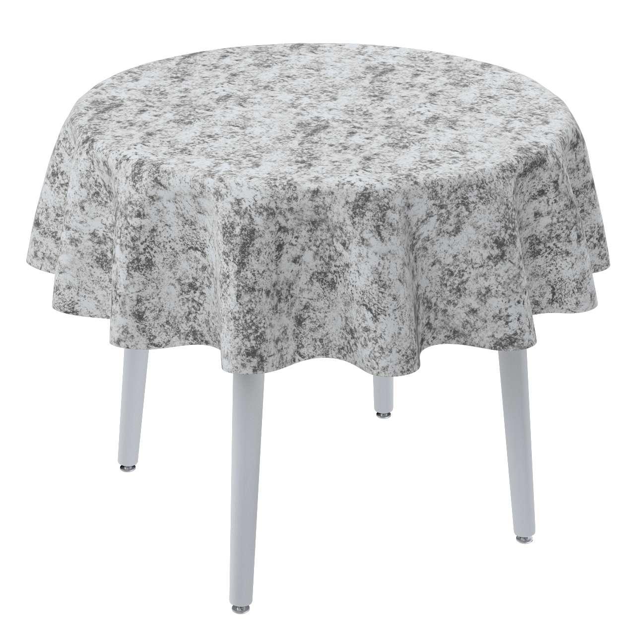 Runde borddug fra kollektionen Velvet, Stof: 704-49