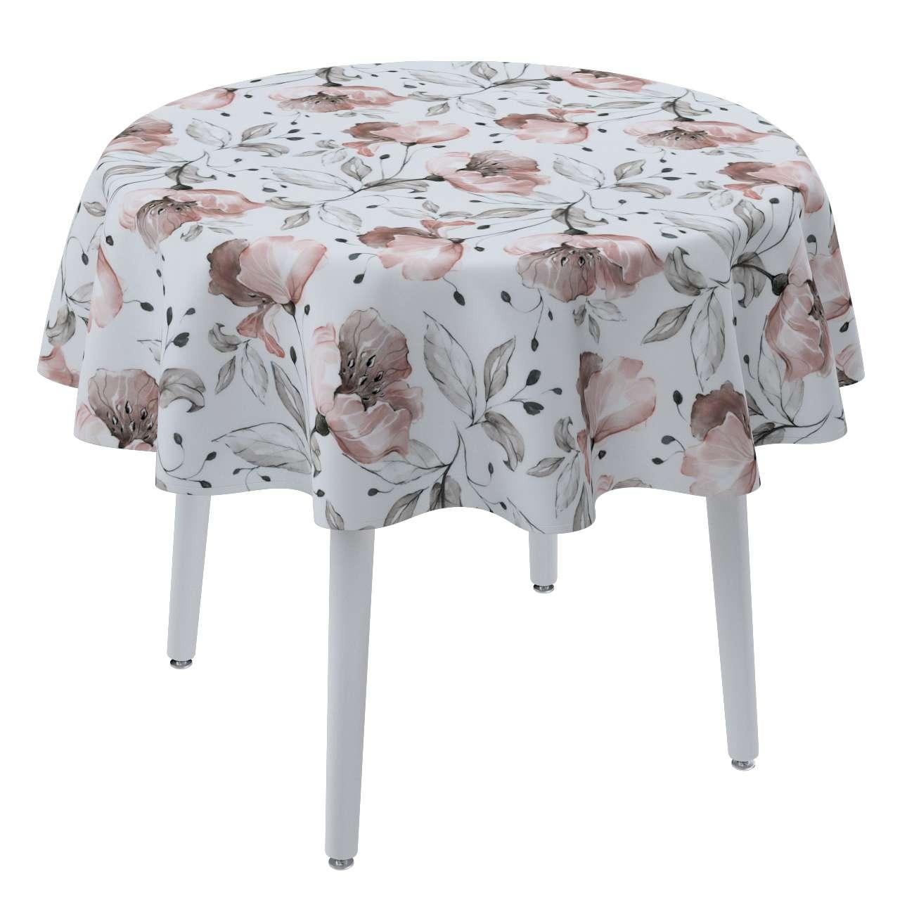Runde borddug fra kollektionen Velvet, Stof: 704-50