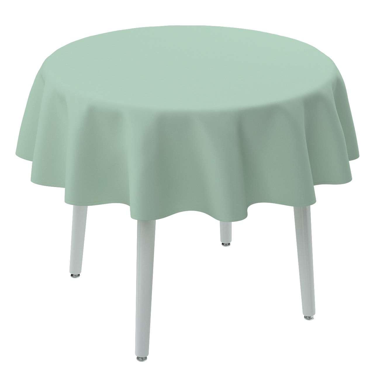 Rund bordsduk i kollektionen Loneta, Tyg: 133-61