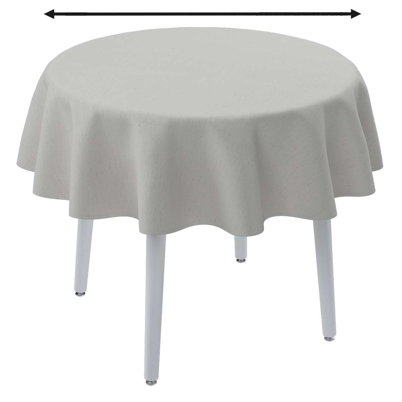 Staltiesės (apvaliam stalui) kolekcijoje Linen, audinys: 159-06