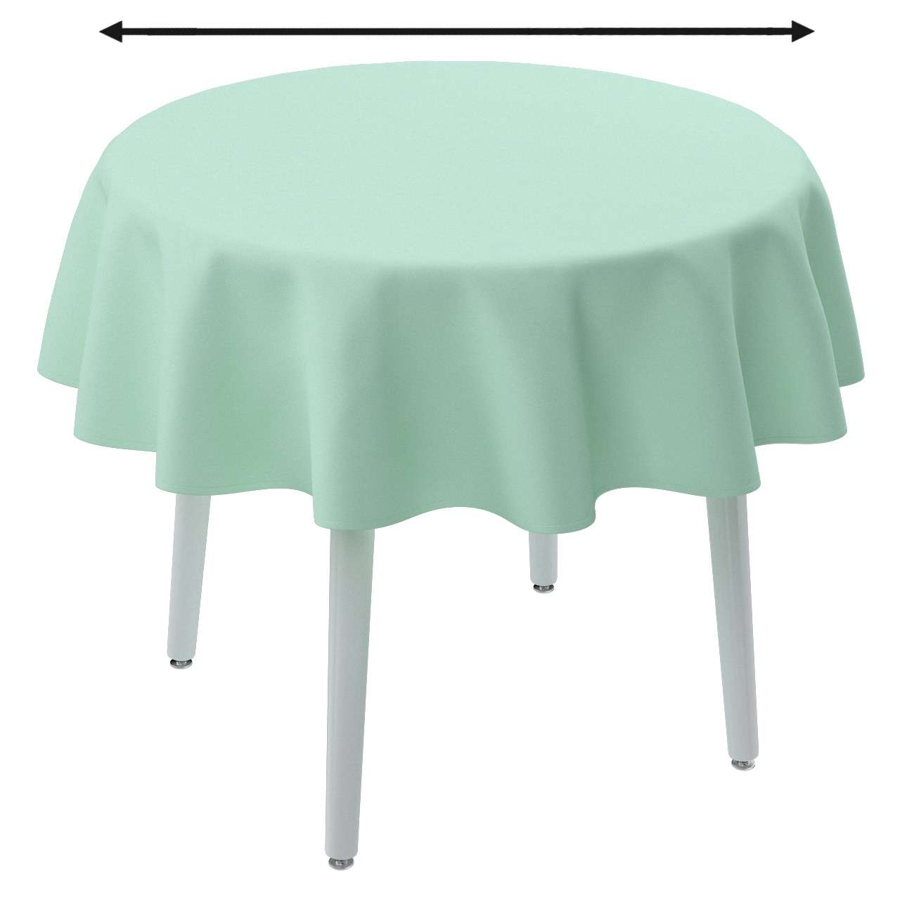 Round tablecloth in collection Loneta , fabric: 133-37