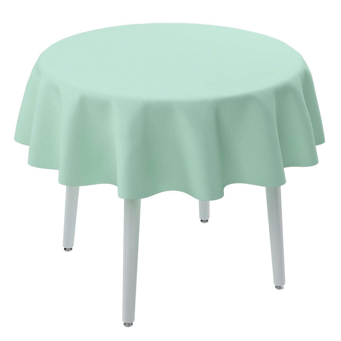 Rund bordsduk i kollektionen Loneta, Tyg: 133-37