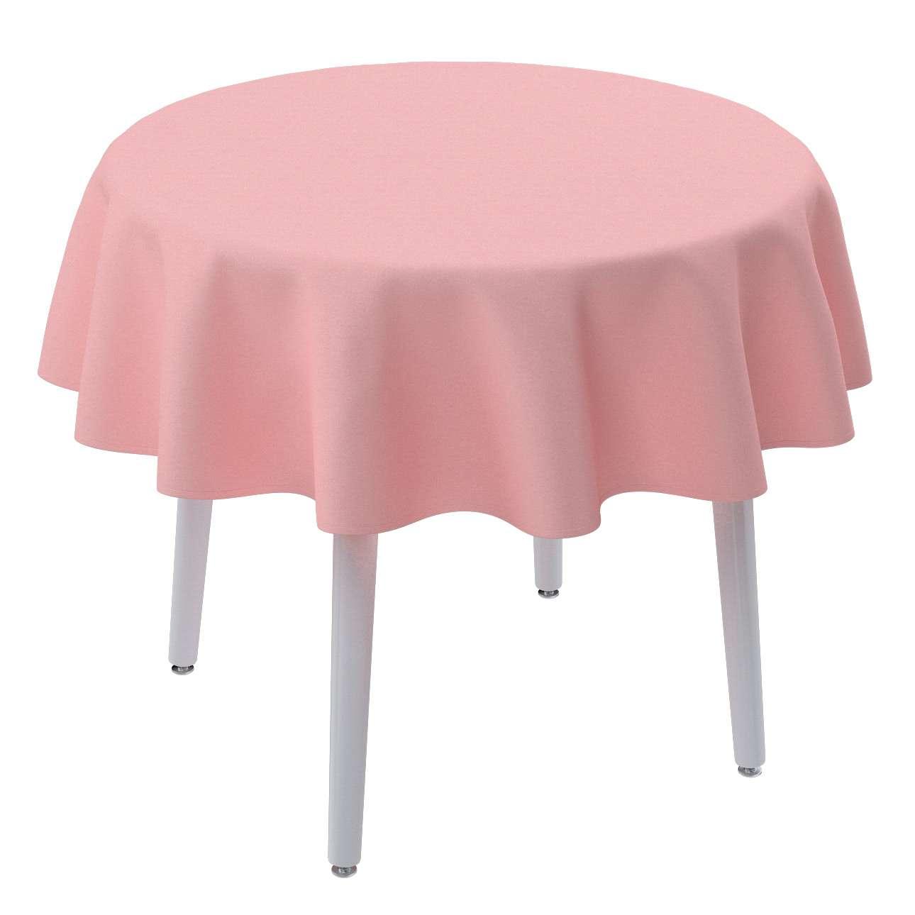 Rund bordsduk i kollektionen Loneta, Tyg: 133-39
