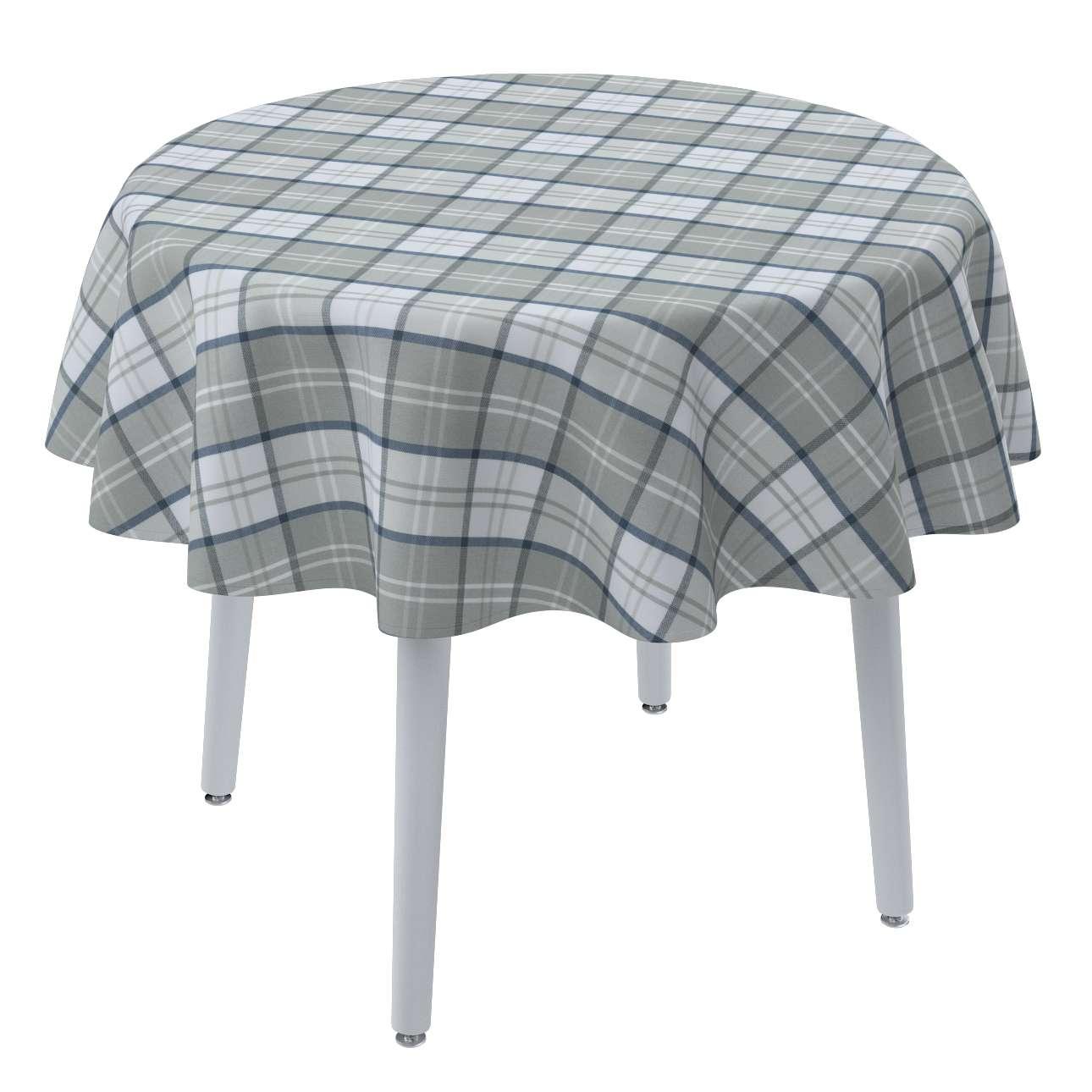 Runde Tischdecke von der Kollektion Bristol, Stoff: 143-65