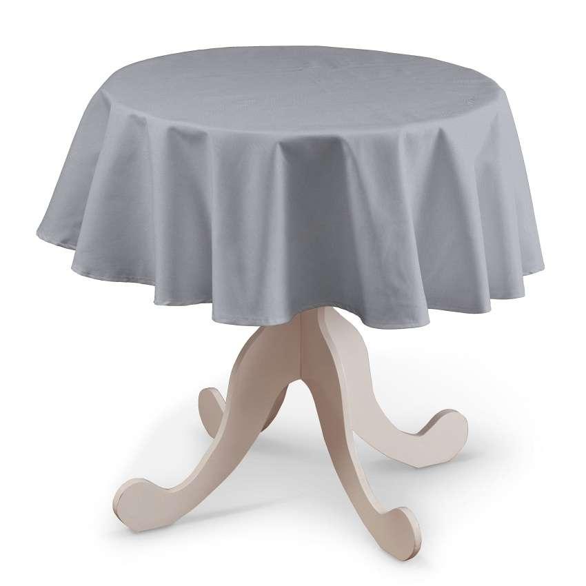 Rund bordsduk i kollektionen Jupiter, Tyg: 127-92