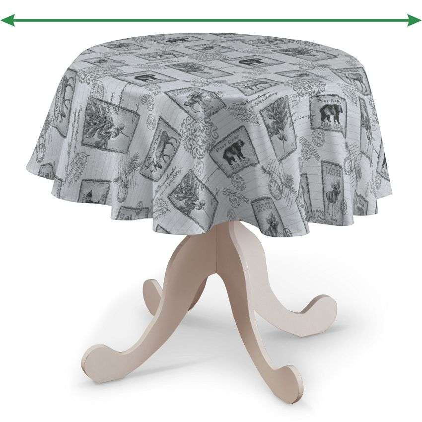 Round tablecloth in collection SALE, fabric: 630-18