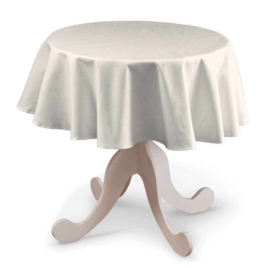 Runde Tischdecke von der Kollektion Jupiter, Stoff: 127-00