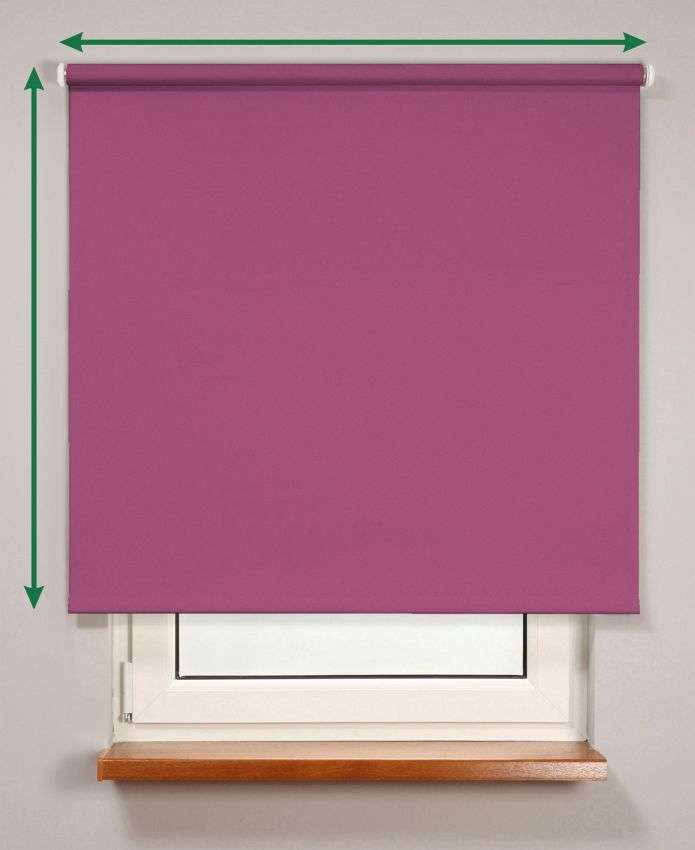 Smartroll™ blackout roller blind in collection Roller blind blackout, fabric: 7933