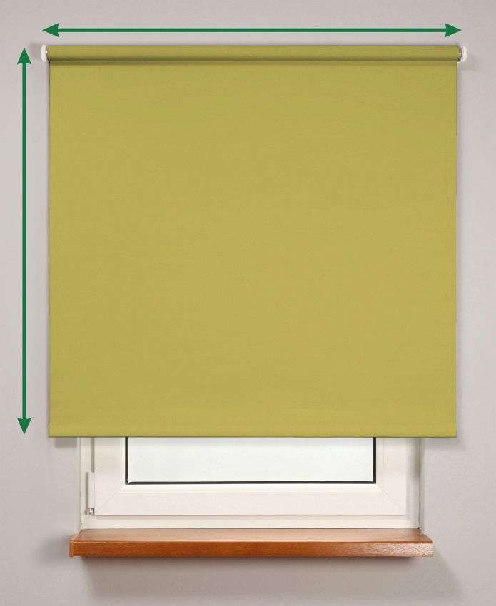 Smartroll™ blackout roller blind in collection Roller blind blackout, fabric: 7935