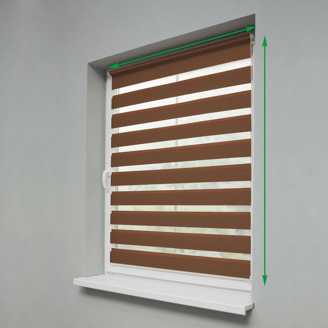 Mini Day & Night Roller Blind in collection Roller blinds Day & Night (Venetian blind), fabric: 0215