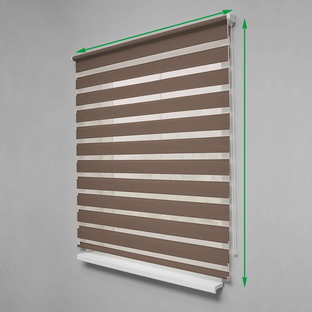 Day & Night Roller Blind in collection Roller blinds Day & Night (Venetian blind), fabric: 0106
