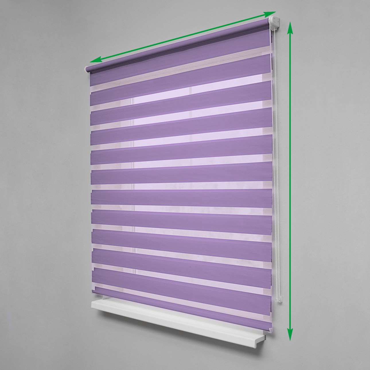 Day & Night Roller Blind in collection Roller blinds Day & Night (Venetian blind), fabric: 0109