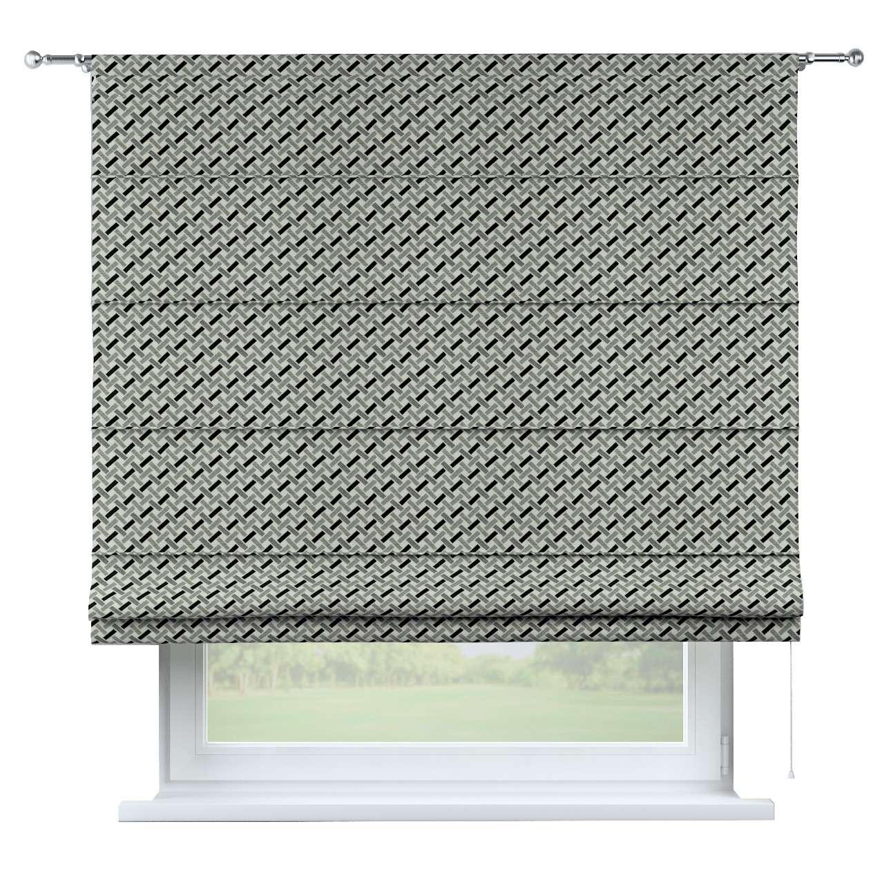 Roleta rzymska Torino 130×170cm w kolekcji Black & White, tkanina: 142-78