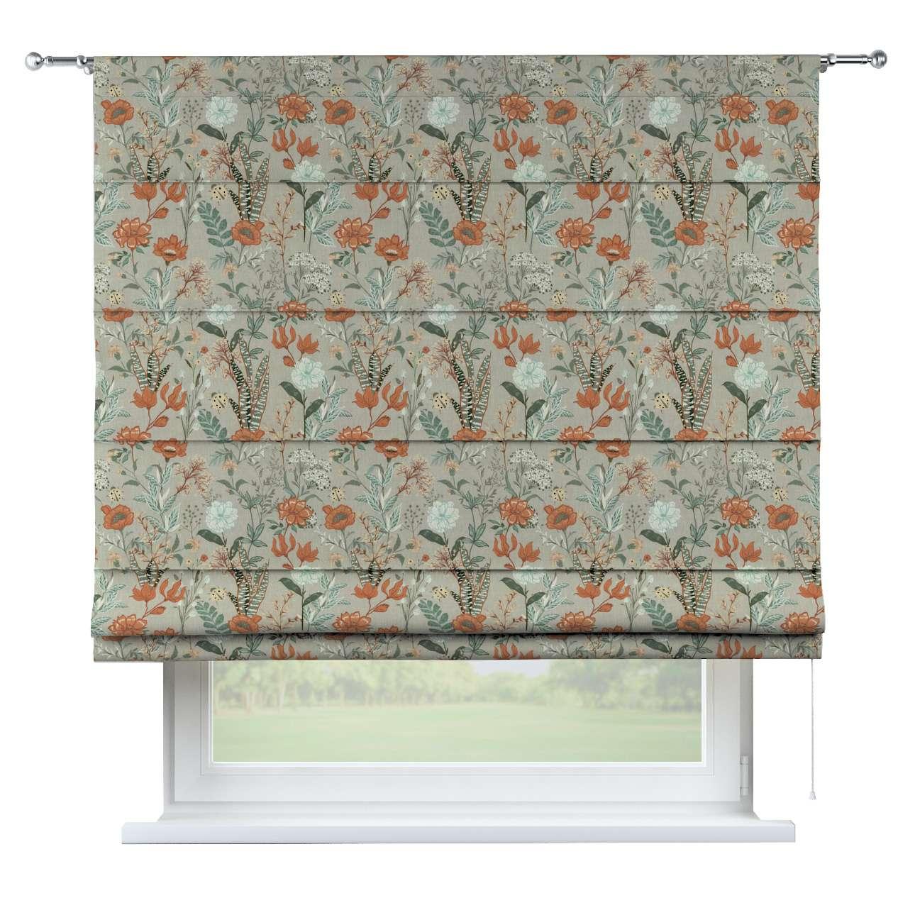 Vouwgordijn Torino van de collectie Flowers, Stof: 143-70
