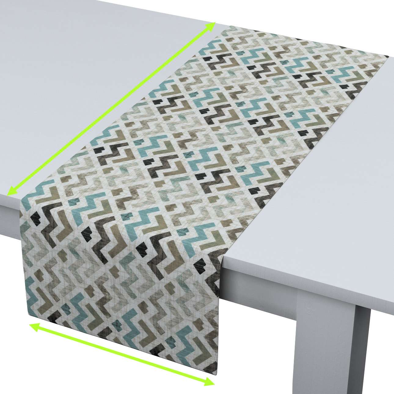 Table runner in collection Modern, fabric: 141-93