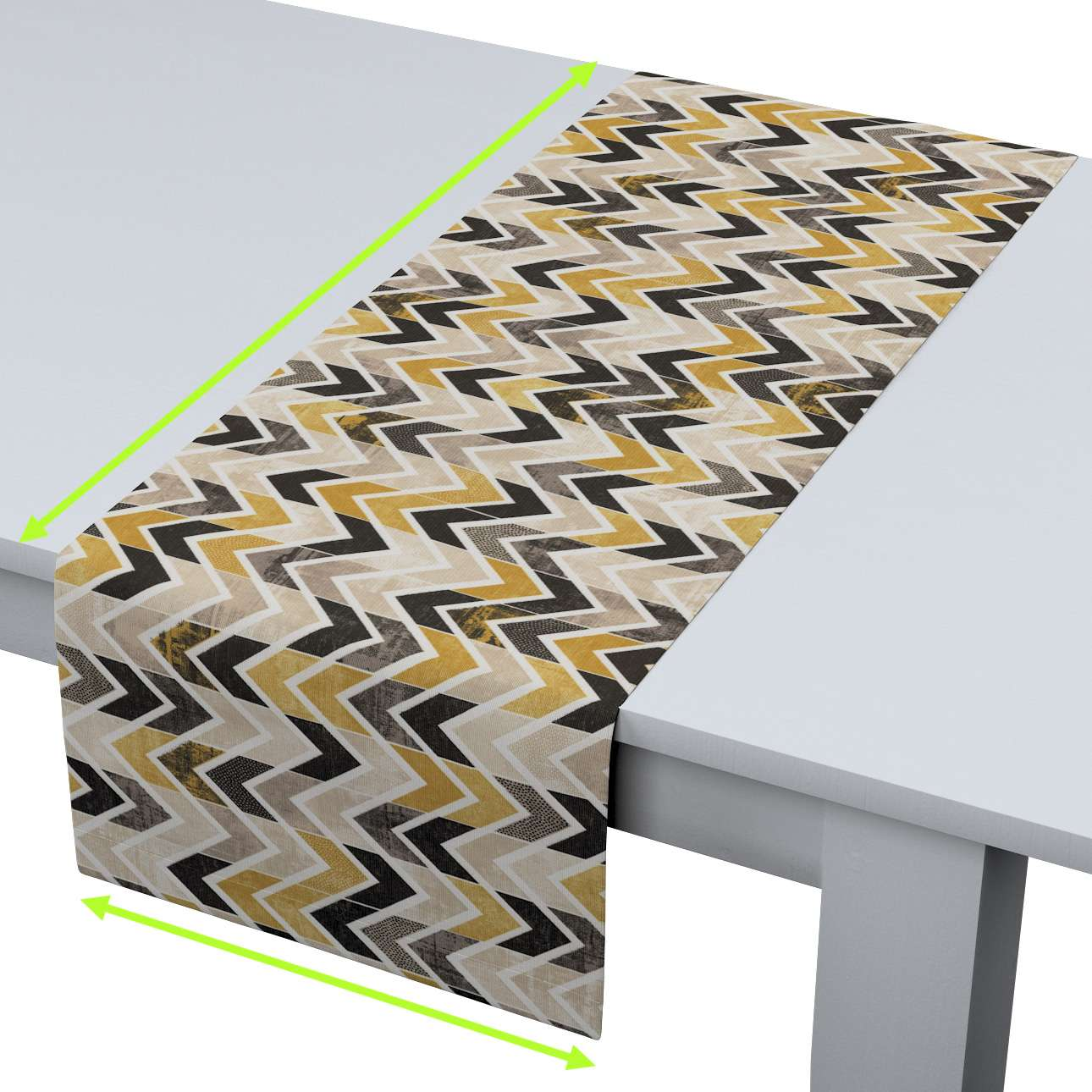 Table runner in collection Modern, fabric: 142-79