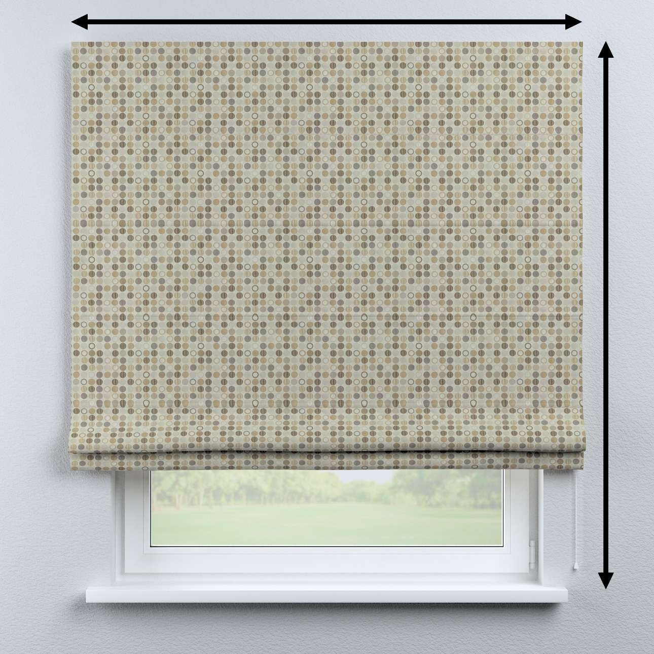 Bari roman blind in collection Retro Glam, fabric: 142-81