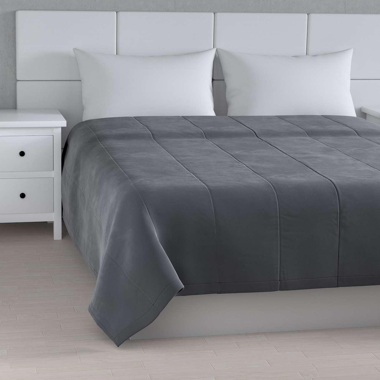 Velvet kolekcijos lovatiesės su vertikaliu dygsniavimu kolekcijoje Velvetas/Aksomas, audinys: 704-12
